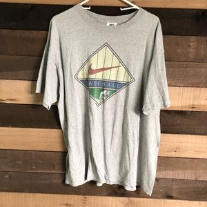 Vintage Nike 90s Baseball Shirt Men's size Large